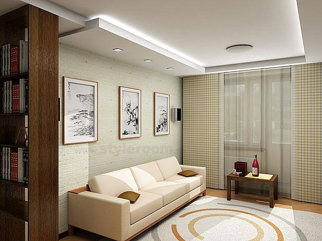 Интерьер гостиной-спальни в хрущевке фото