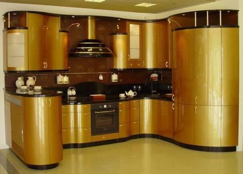 Интерьер гостиная кухня современный