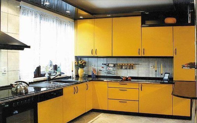 Дизайн кухни узкой с балконом