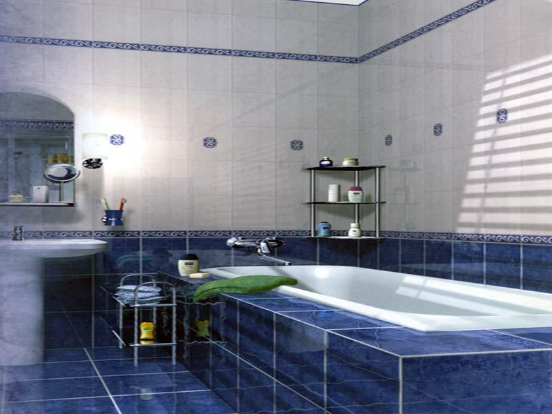 Дизайн облицовки ванных комнат