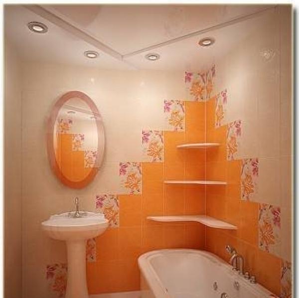 Отделка плиткой ванной комнаты своими руками фото